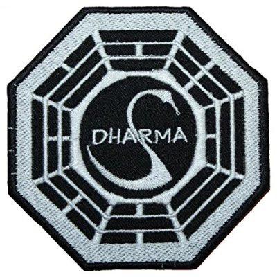 La-Station-Cygne-Lost-Dharma-Logo-Brod-Patch-102-cm-coudre-ou-thermocollant-0