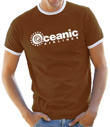 OCEANIC-AIRLINES-Lost-Dharma-RingerContraste-T-Shirt-S-XXL-couleur-diff-0