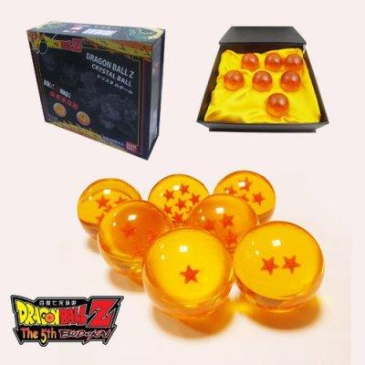 Dragon-Ball-Z-7-boule-de-cristal-avec-bote-cadeau-Toutes-les-stars-0