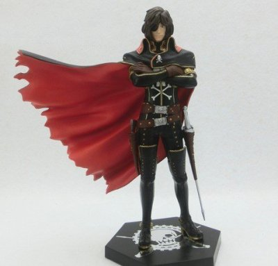 Japan-Sega-Prize-UFO-PM-Figure-Captain-Harlock-26009-by-sega-0