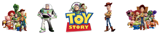 Toy story banners