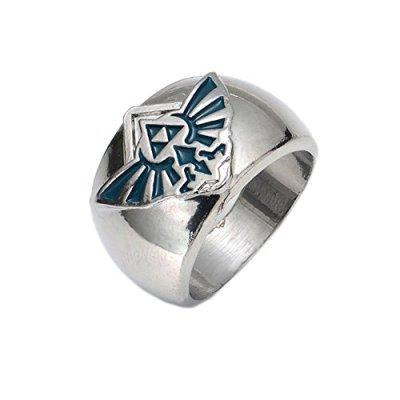 anneaux-de-Cosplay-Le-Logo-du-jeu-Hot-en-alliage-de-zinc-Anneaux-LoZ-argent-Bague-Accessoires-props-sur-les-ventes-0