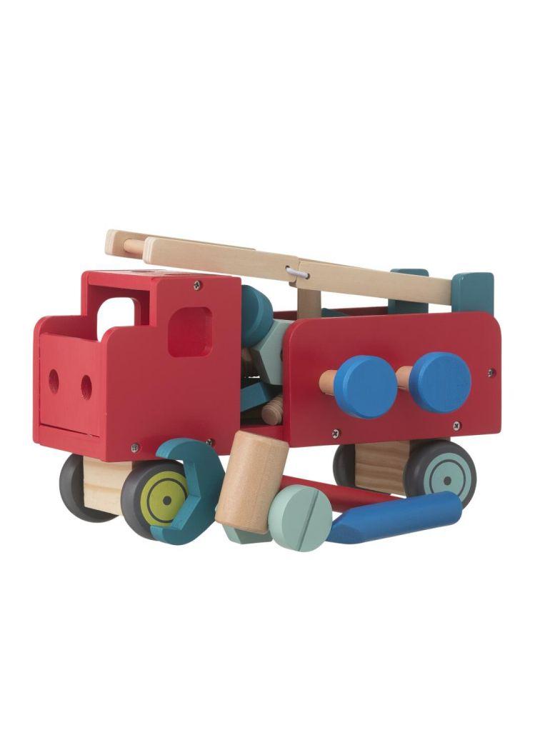 Houten constructie-auto