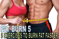 Fat Burn 5 - 5 Exercises to burn fat faster