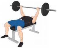 155 workout - bench press