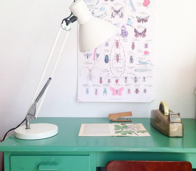 retro lamp uit de shop van retroloekie in de blog van hemelsblauw