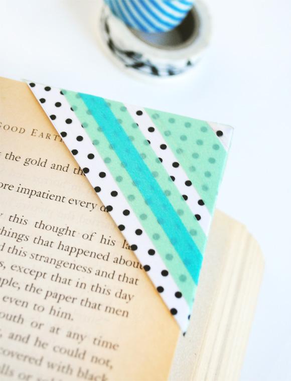 boekenlegger washi tape