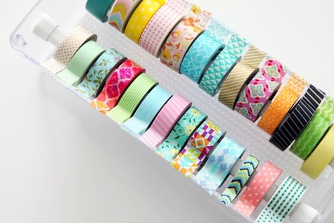 hemelsblauw washi tape diy