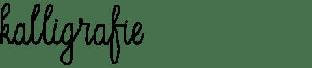 kalligrafie kalligraferen handletteren