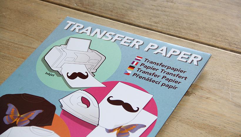 getest transferpapier op licht en donker textiel