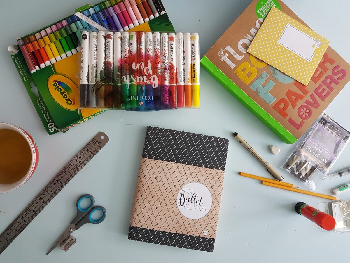 DIY: Bullet Journal #1