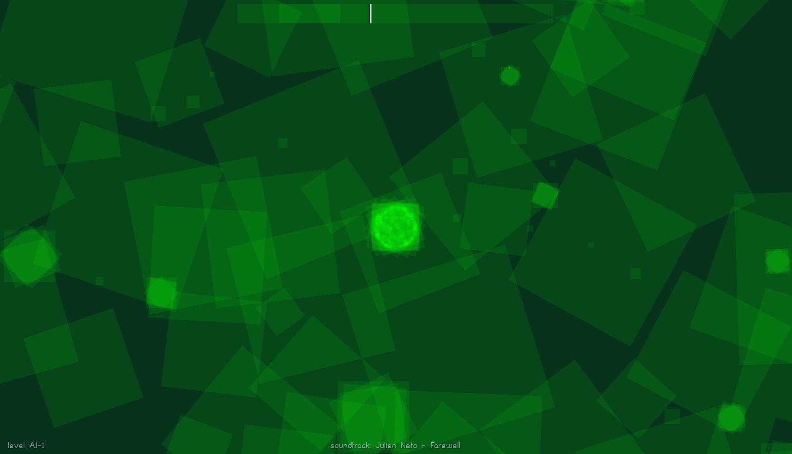 Intelligent distribution causes far less overlap than random placement.