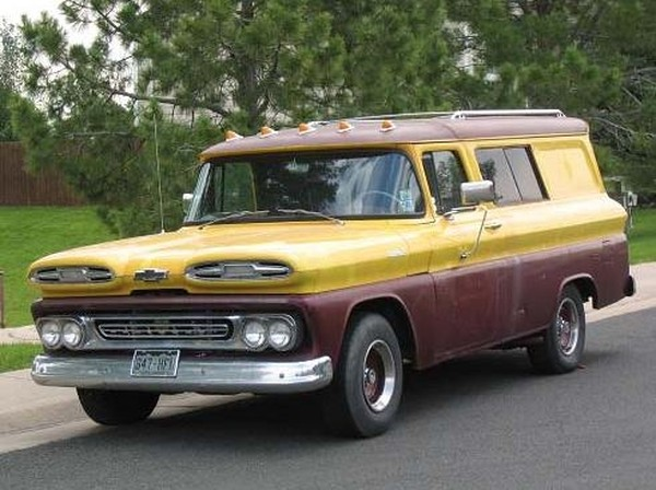Hemmings Find of the Day     1961 Chevrolet Suburban   Hemmings Daily I am getting more pictures and information  I recently aquired this vehicle  so I am unable to provide much history