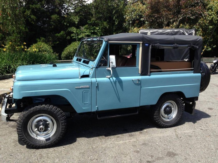 Hemmings Find Of The Day 1979 Nissan Patrol Lg 60