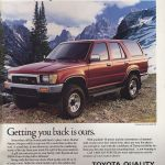A Good Thing Made Better The 1990 Toyota 4runner Hemmings