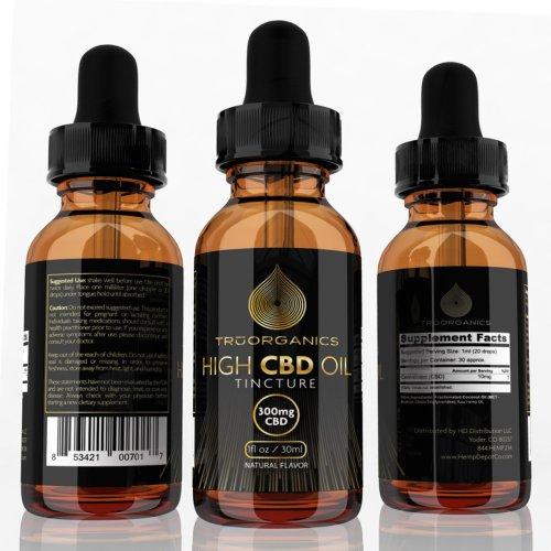 Tru Organics – CBD Tinctures (300mg)