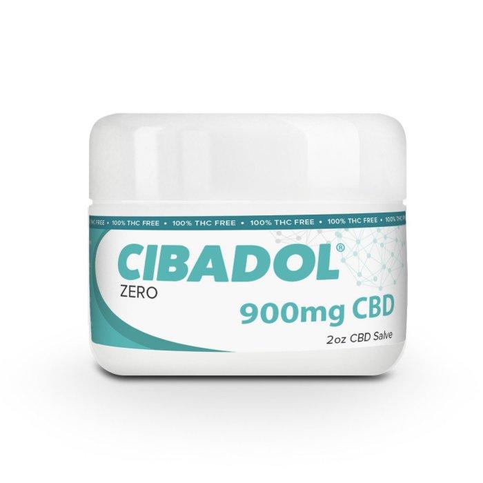 Cibadol ZERO – THC FREE CBD Salve Extra Strength