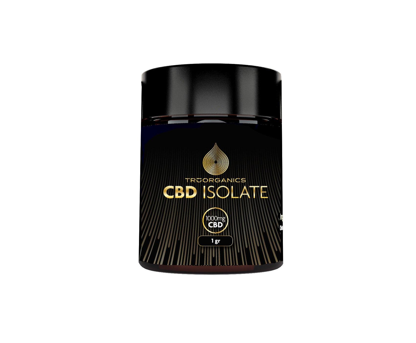 Tru Organics - 99+% Pure CBD Isolate SLAB