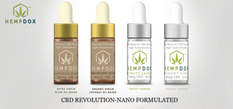 Official HempDox CBD Vape Oil Edible CBD Vape Pen