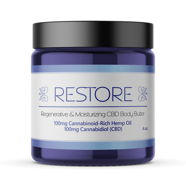 restore 100mg cbd body butter for sale online