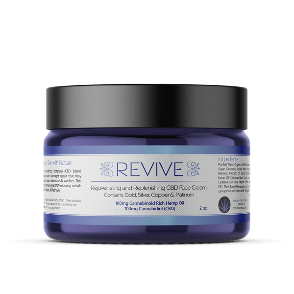 revive 100mg cbd face cream for sale online