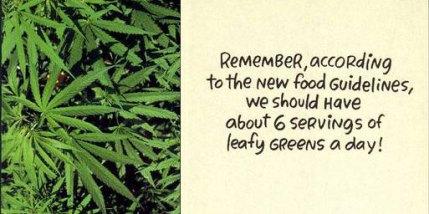 LeafyGreens Card