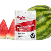 CBD Infused Watermelon Gummies from Funky Farms