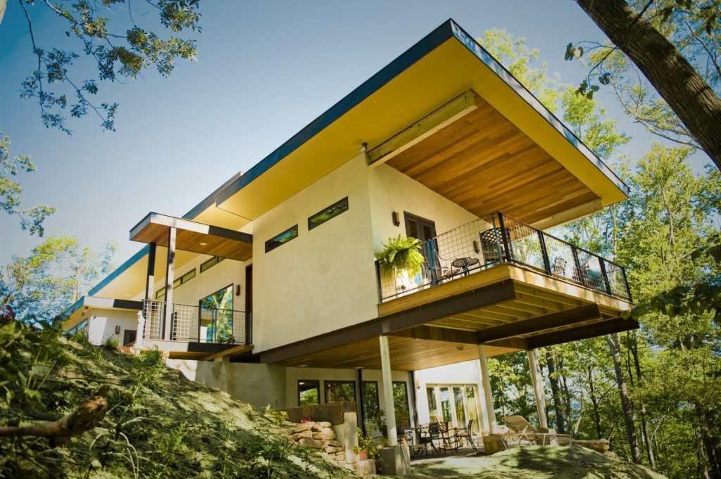 Hemp house in Asheville, North Carolina