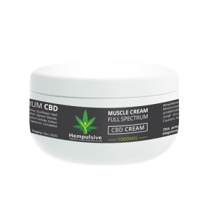 CBD Muscle Cream 1000mg