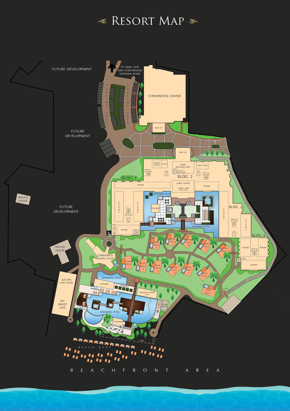 Convention Center Room Map