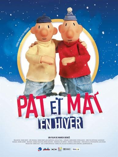 Affiche du film Pat et Mat en hiver