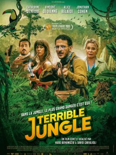 Affiche du film Terrible jungle
