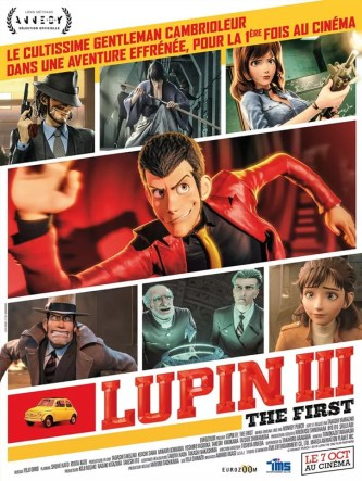 Affiche du film Lupin III the first