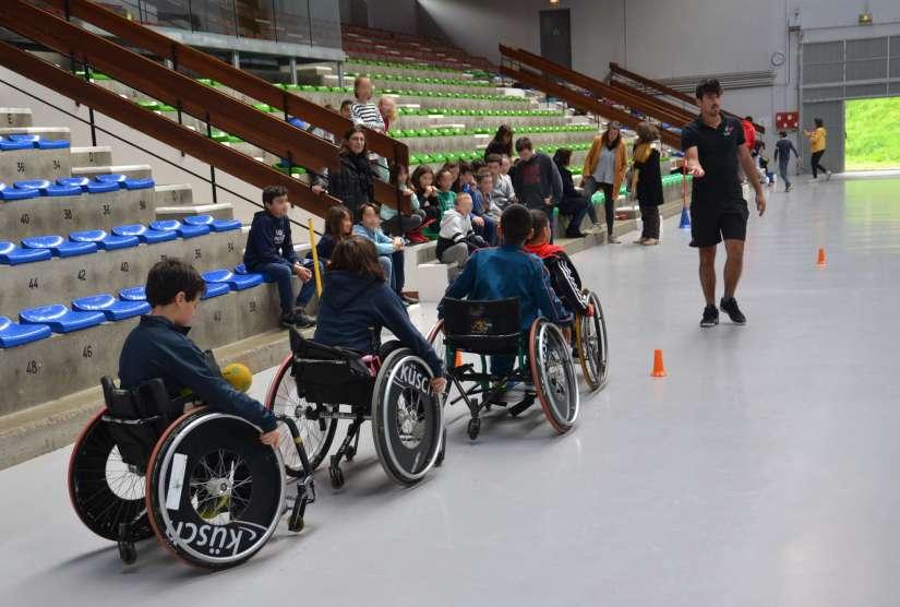 Sport en fauteuil roulant