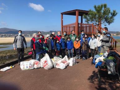 nettoyage des plages 2021 - Txingudi argazkia 2
