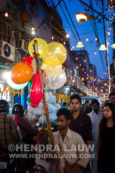The Colorful Old Delhi