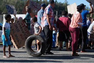 Suurbraak protest: time out waiting for the handover of the letter of demand to Swellendam Municipality