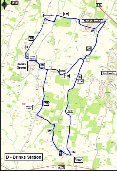 Barns Green Route