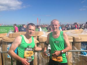 Duncan & I after the finish