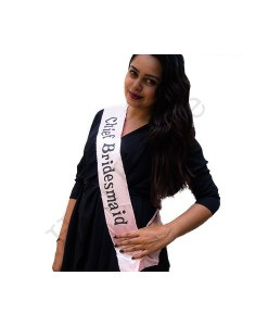 Chief Bridesmaid Sash