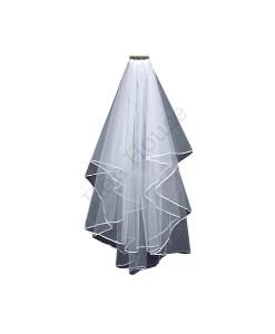 Ribbon Lined Veil