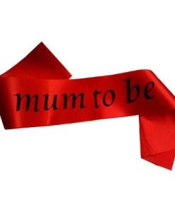 Mum to Be Sash