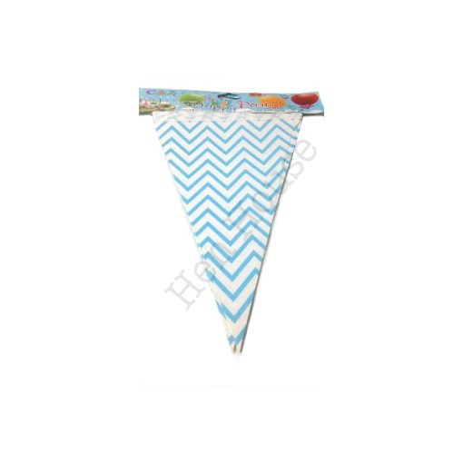 Blue Bunting Flags
