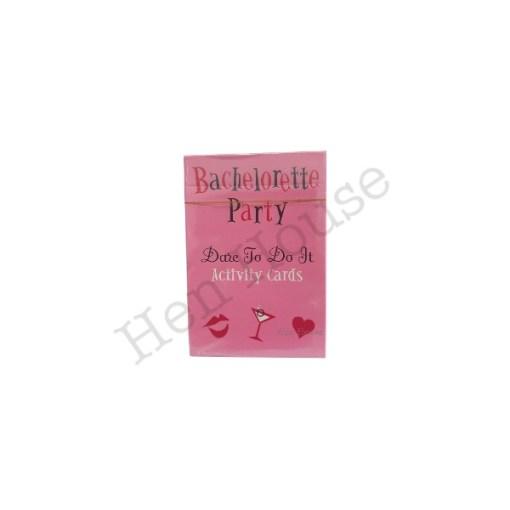 Bachelorette Dare to Do Cards