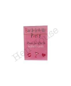 Bachelorette Dare to Do Cards