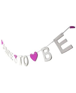 Silver Bride to Be Banner