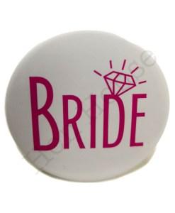 Bride Badge Pink