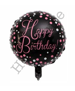 Polka Dot Birthday Balloon