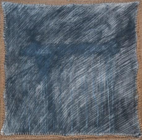 Olio su juta (270x270 cm)
