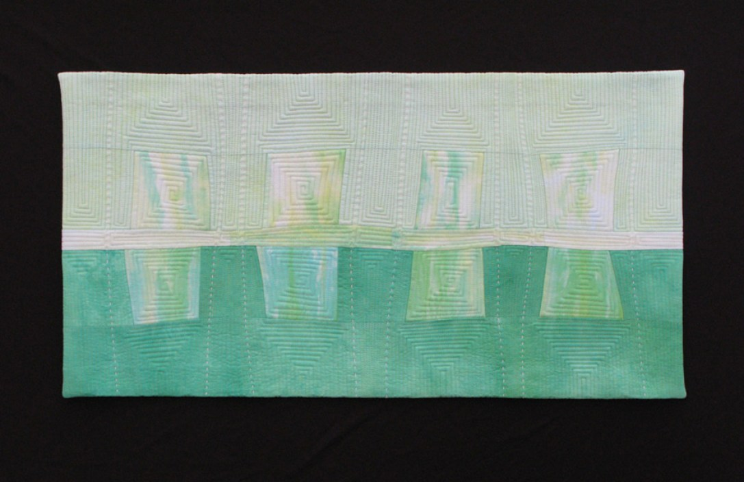 """Paths and Barriers, 13"""" x 25"""""""